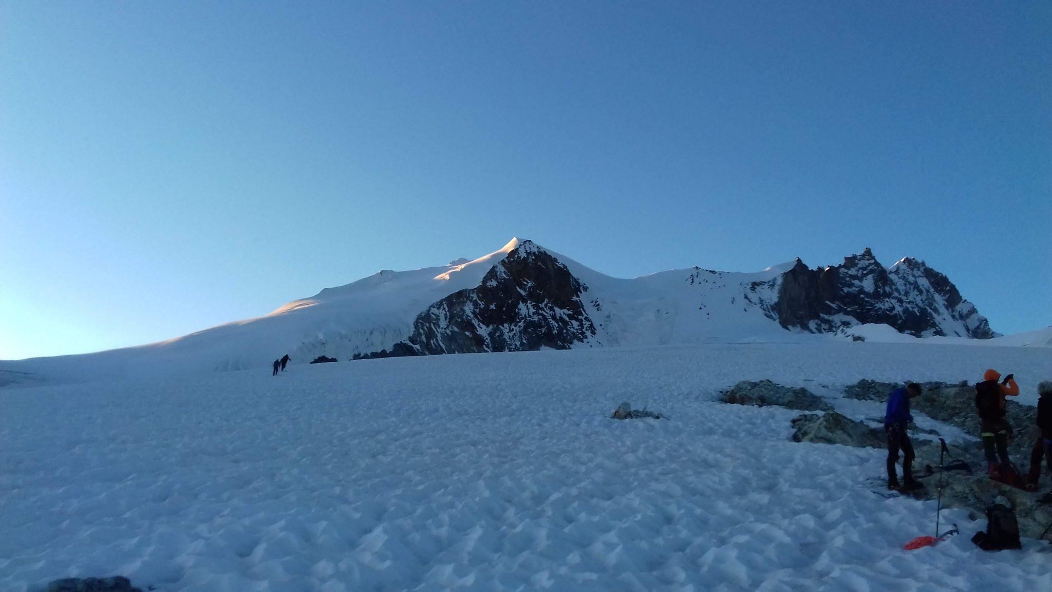 Początek lodowca Bishorn