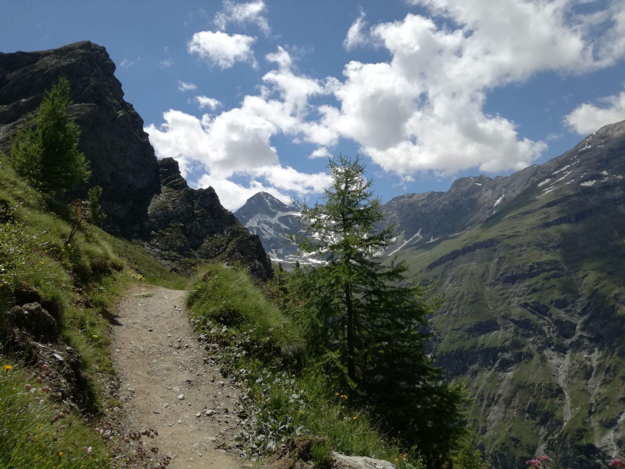 W stronę Roc de la Vache