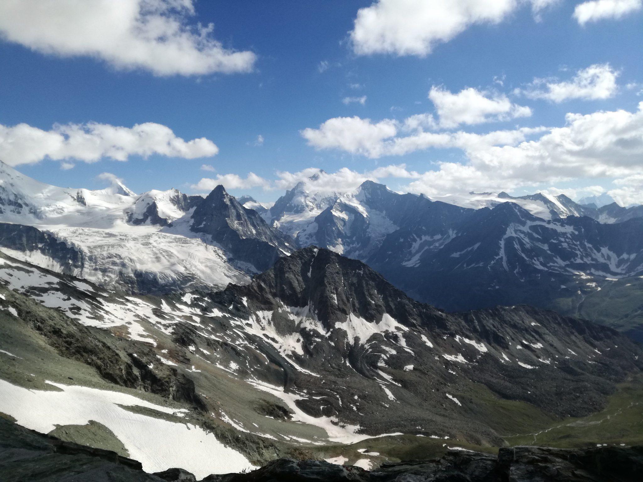 Panorama alp Pienińskich