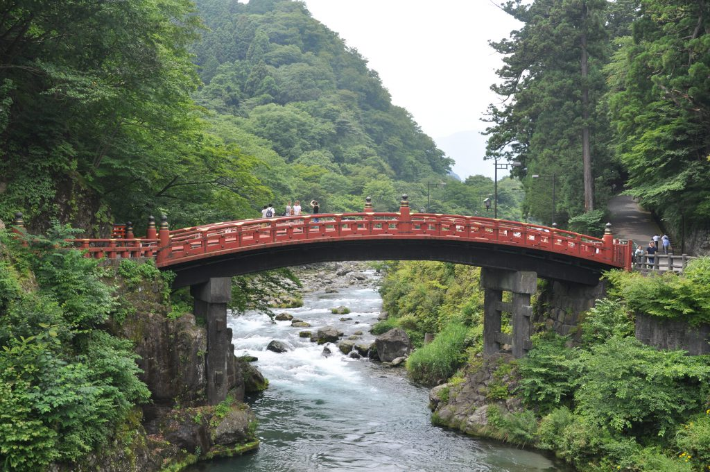 Shinkyo Bridge w Nikko