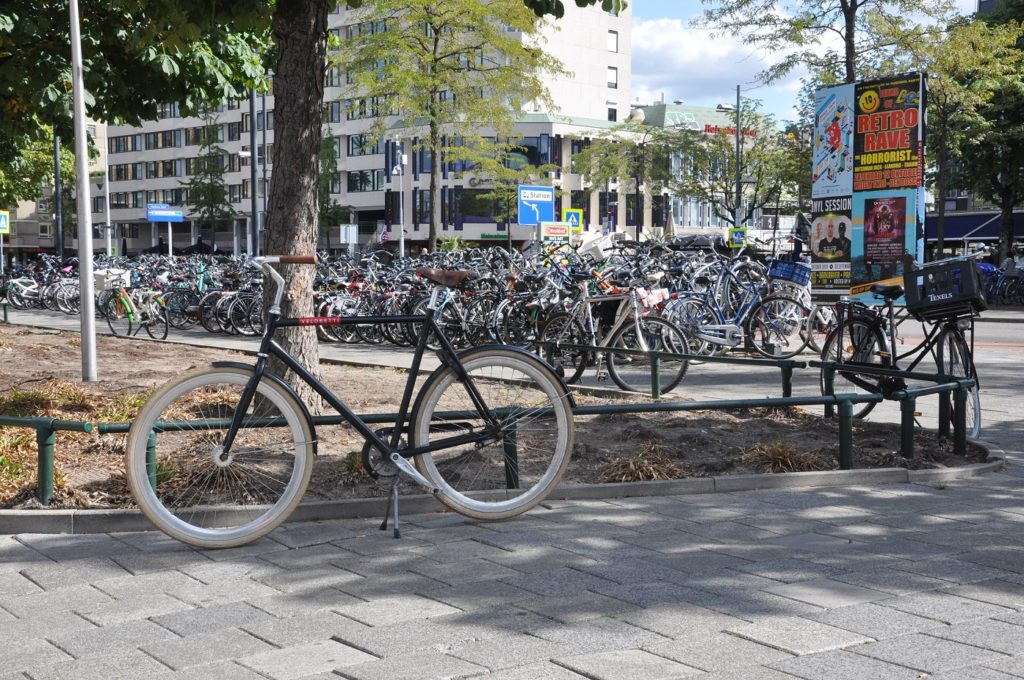 Parking rowerowy Eindhoven